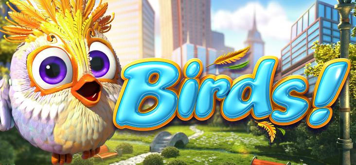 birds-Pressbutton